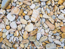 Small gravels texture Royalty Free Stock Photos