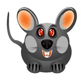 Small gray baby mouse Stock Image