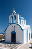 Small Greek Church Stock Photography