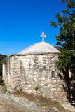 Small greek cypriot church in cyprus. Pathos Royalty Free Stock Photography