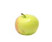 Small green agriculture apple Royalty Free Stock Photo