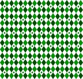 Small Green Argyle vector illustration