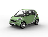 Small green car Stock Photo