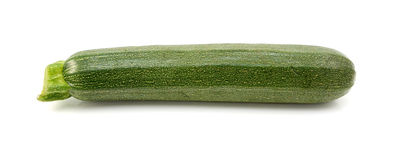 Small green courgette or zucchini Royalty Free Stock Image
