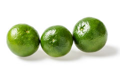 Small green limes Royalty Free Stock Images