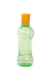 A small green plastic bottle Royalty Free Stock Photos