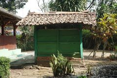 Small Green Room in Javanese Historical Sendang Sani Tlogowungu in Pati, Central Jav, Indonesia_1