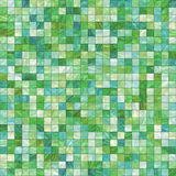 Small green tiles Stock Image