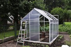 Small greenhouse Stock Photos