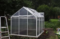 Small greenhouse Royalty Free Stock Photo