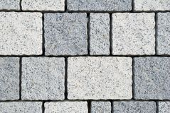 Small grey and white tiles Stock Photo