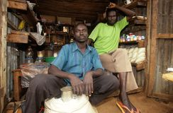 A small grocery store, Uganda Stock Image