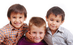 Small group of children Royalty Free Stock Photography