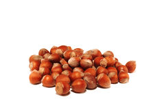 Small group of nuts Royalty Free Stock Photo