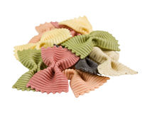 Small group of pasta. Royalty Free Stock Photos