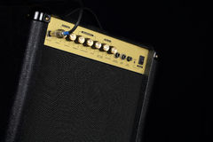 A small guitar amplifier on black background Stock Photography
