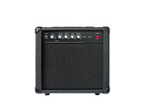 Small guitar amplifier isolated Stock Image