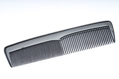 Small hair brush. Made of plastic stock image