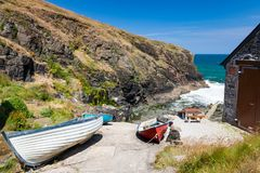 Church Cove The Lizard Cornwall England Royalty Free Stock Photos