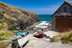 Church Cove The Lizard Cornwall England Stock Image
