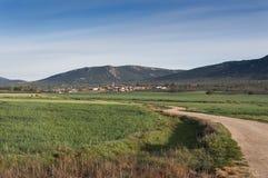 Small hamletin La Mancha Royalty Free Stock Photos
