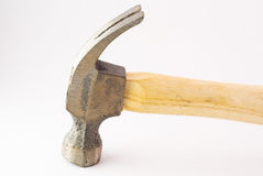 Small hammer in studio light Royalty Free Stock Photography