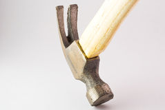 Small hammer in studio light Royalty Free Stock Image