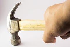 Small hammer in studio light Stock Photo