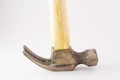 Small hammer in studio light Royalty Free Stock Photo