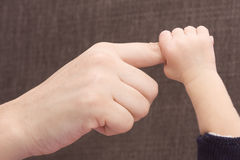 Small hand Royalty Free Stock Photography