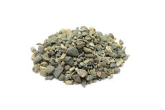Small handful of crushed stone Stock Photography