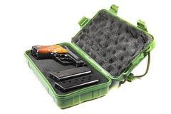 Small handgun 6.35 mm. Stock Photo