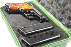 Small handgun 6.35 mm. Stock Image