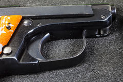 Small handgun 6.35 mm. Royalty Free Stock Photos
