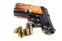 Small handgun 6.35 mm. Stock Photos