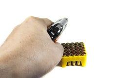 Small handgun 6.35 mm. Stock Photography