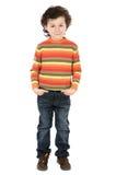 Small handsome boy Stock Photos
