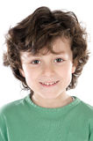 Small handsome boy Stock Photography