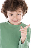 Small handsome boy Royalty Free Stock Photo