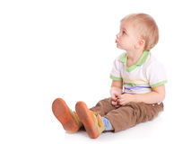 Small happy child Royalty Free Stock Photo