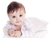 Small happy child Stock Images