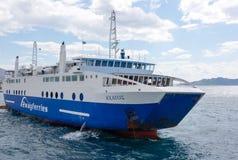 Small harbor at Aegina island Stock Image