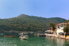 Small harbor Assos Royalty Free Stock Image