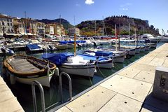 The small harbor of Cassis Stock Photography