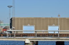 Small harbor in Denmark Royalty Free Stock Photography