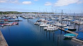 Small Harbor Royalty Free Stock Photos
