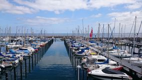 Small Harbor Stock Image