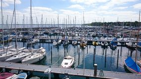 Small Harbor Stock Photo
