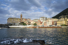 Small harbor of Nervi Royalty Free Stock Photos