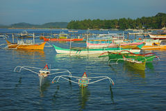 Small harbor of Siargao Stock Photos